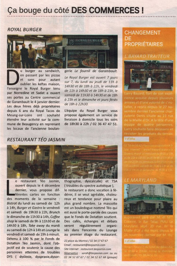 Beaugency Mag