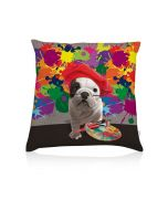 Coussin deco Teo Artiste