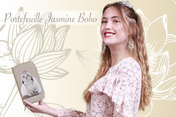 Portefeuille Jasmine Boho